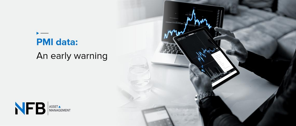 PMI data: An early warning